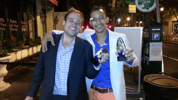 Darin Carter Wins an Affy Award